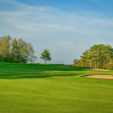 Middlesbrough Golf Club, Teesside, North Yorkshire - 10th Approach