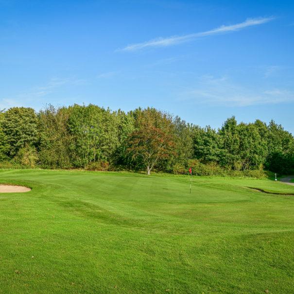 Middlesbrough Golf Club, Teesside, North Yorkshire - 17th Green