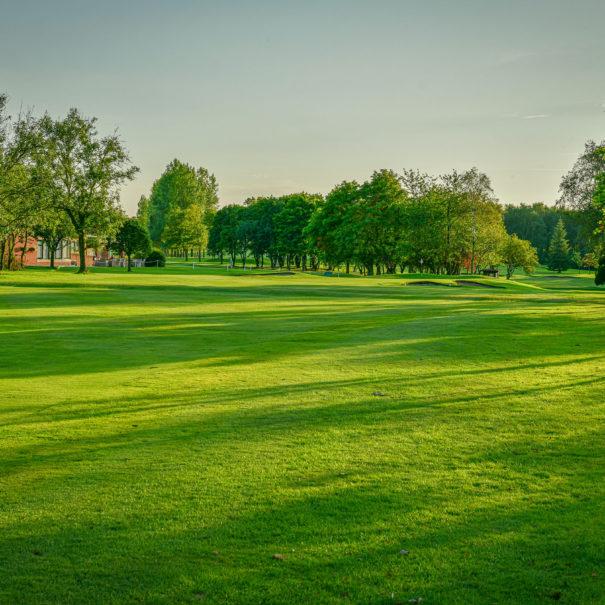 Middlesbrough Golf Club, Teesside, North Yorkshire - 18th Approach