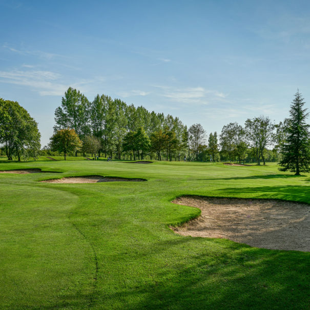 Middlesbrough Golf Club, Teesside, North Yorkshire - 2nd Fairway Bunkers